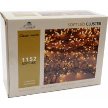 Clusterverlichting 1152-lamps soft-LED 'classic warm' - afbeelding 1