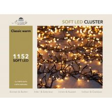 Clusterverlichting 1152-lamps soft-LED 'classic warm' - afbeelding 4