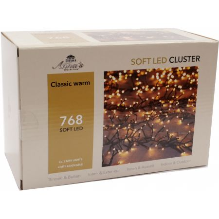Clusterverlichting 768-lamps soft-LED 'classic warm' - afbeelding 1