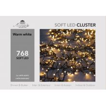 Clusterverlichting 768-lamps soft-LED 'warm wit' - afbeelding 4