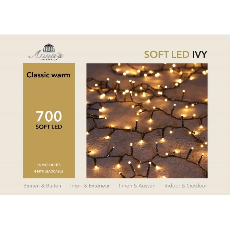 Ivy light soft LED 700-lamps 'classic warm'