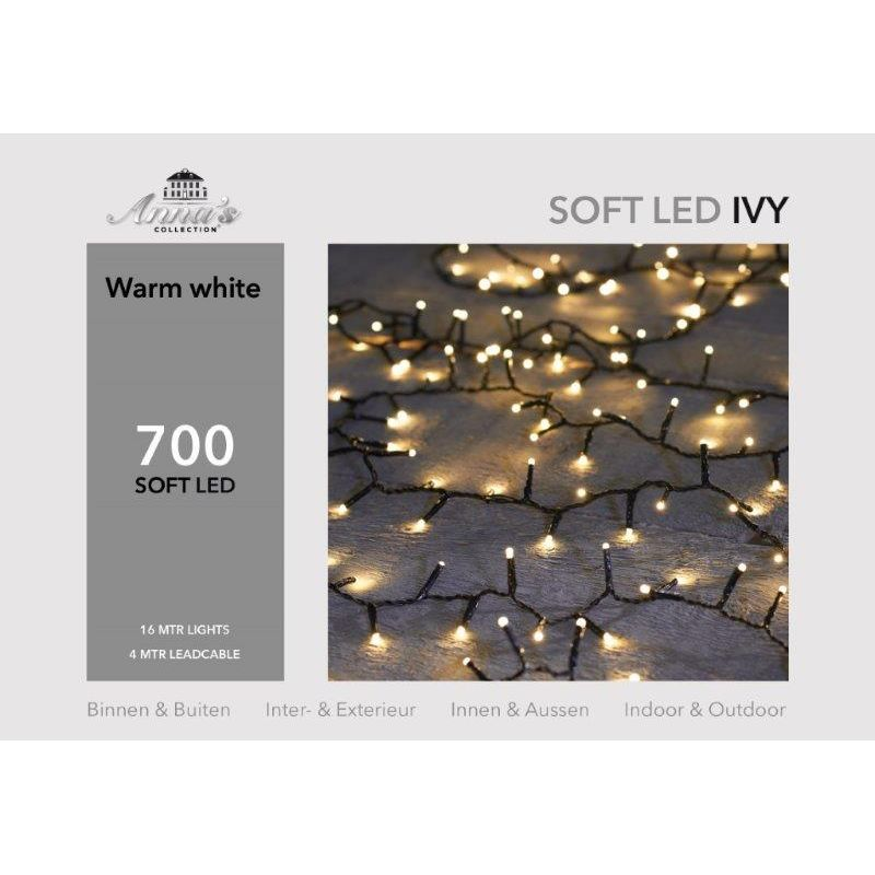 Ivy light soft LED 700-lamps 'warm wit'