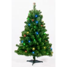 Kunstkerstboom Table tree 60cm 24 LED multicolor