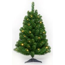 Kunstkerstboom Table tree 60cm 24 LED warm wit