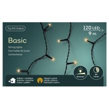 LED basicverlichting 120-lamps, 'klassiek warm' - afbeelding 1