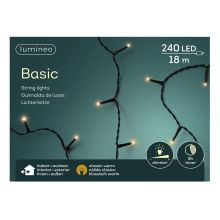 LED basicverlichting 240-lamps, 'klassiek warm' - afbeelding 1