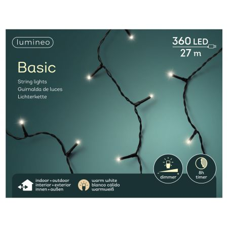 LED basicverlichting 360-lamps, 'warm wit' - afbeelding 1