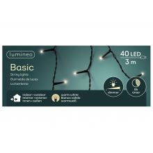 LED basicverlichting 40-lamps, 'warm wit' - afbeelding 1